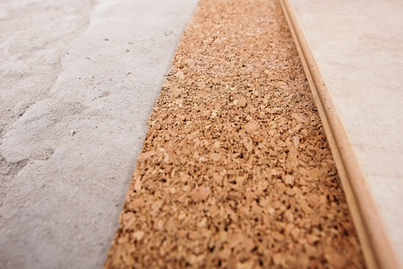 coating of the laminate and cork, is very close