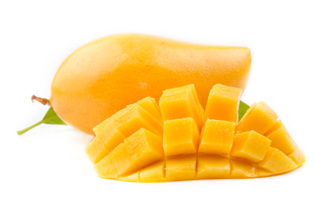 mango fruit: mango fruit isolated on white background
