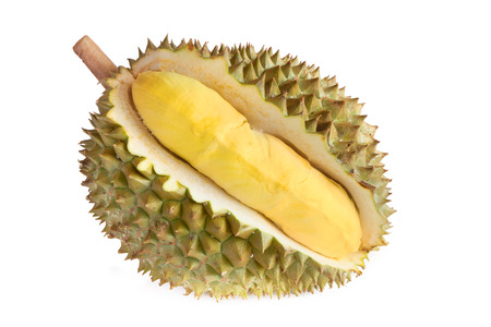 fruit: Delicious Durian fruit isolated