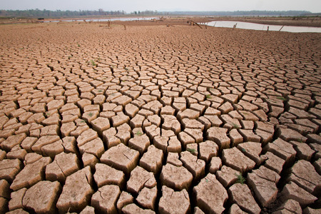 lack water: Heat zone in southeast Asia impact to country lack water, climate change and global warming effect.