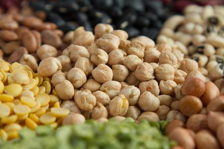 garbanzo bean: Chick pea in grains legumes seed