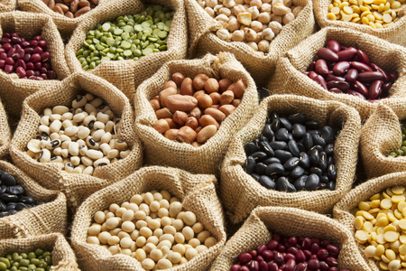 Legumes, beans seed