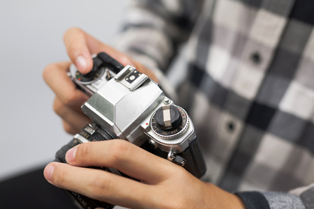 leren hoe u filmcamera kunt gebruiken