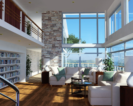 Modern apartment interior