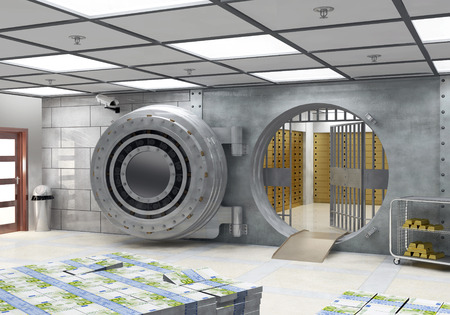 gold bullion: The Vault