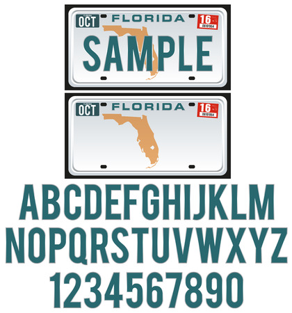 License Plate Florida