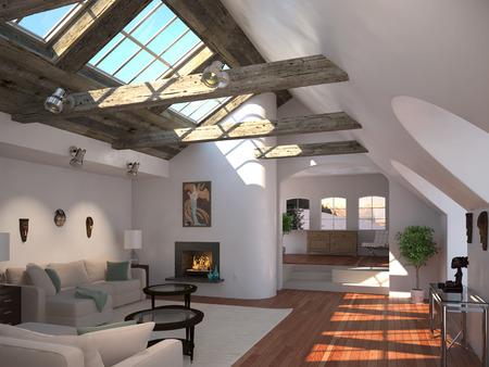 Modernes Haus Standard-Bild - 29466519
