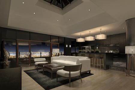 Moderne Penthouse Stockfoto - 29466520