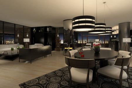 Moderne Penthouse Standard-Bild - 29591253
