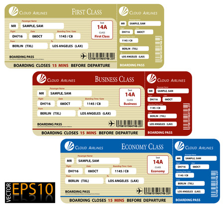 airline: Boarding Pass