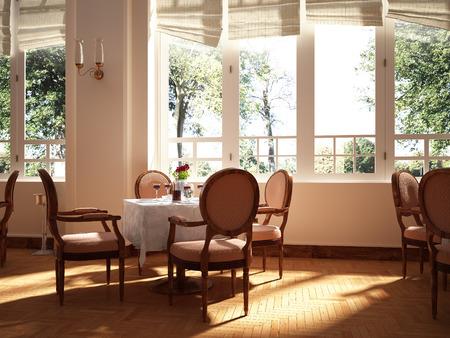 lunch room: Restaurant