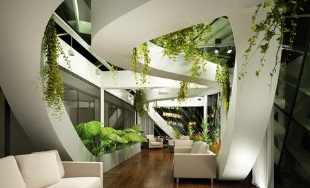 Modernes Interieur Standard-Bild