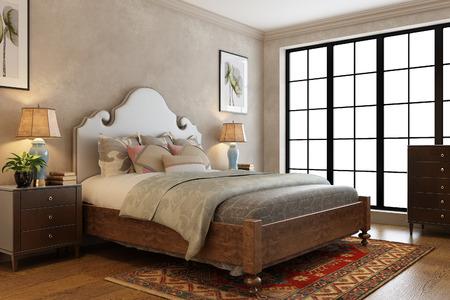 jovial: 3d rendering  Modern Bedroom
