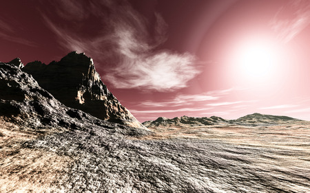 Der unbekannte Planet Standard-Bild - 37001913
