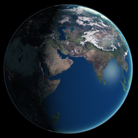 Our beautiful blue planet