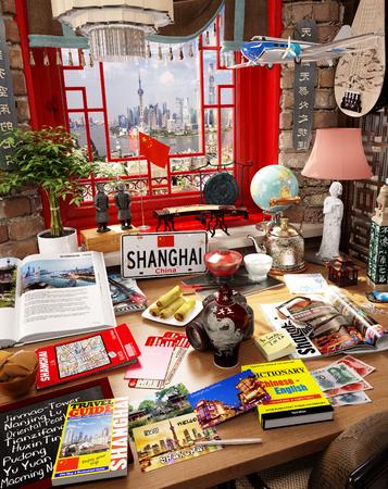 # 14 Shanghai, China, Urlaubsziel Standard-Bild - 81338941