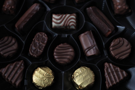 confiserie: The chocolate candy box