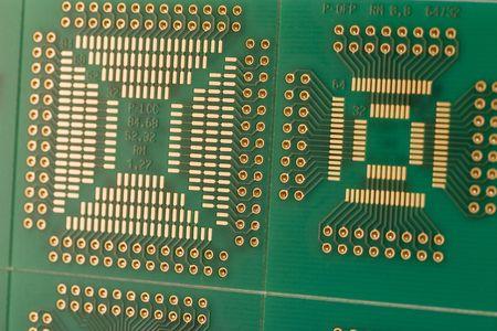 ttl: green PCB board