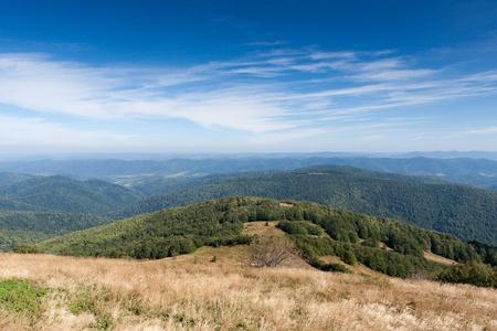 Bieszczady mountains in south-east Poland - Polonina Wetlinska Stock Photo - 13561701