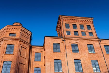 Old textile factory as a lofts in Lodz