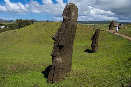 rapa: Easter island Stock Photo