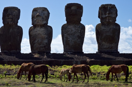 Easter island Stock Photo - 13370631