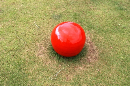 touchline: red ball