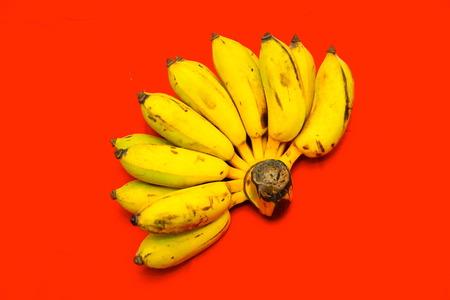 bannana: Bunch of bananas Stock Photo