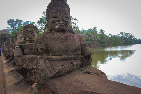 angkor thom: South Gate to Angkor Thom