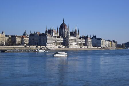 attractiveness: And Parliament building by the river and water