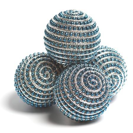 Christmas decoration balls. photo