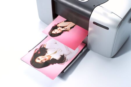Printing colorful photos on small printer