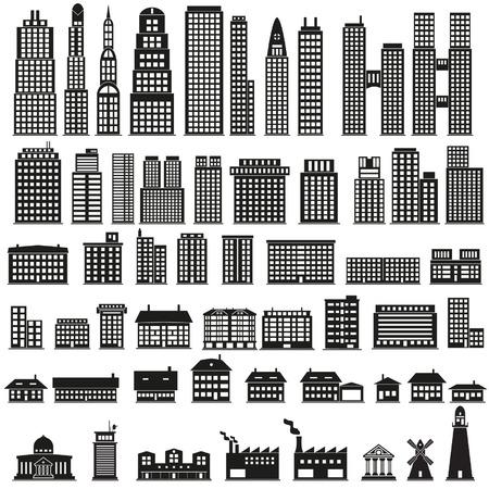 headquarter: Buildings set