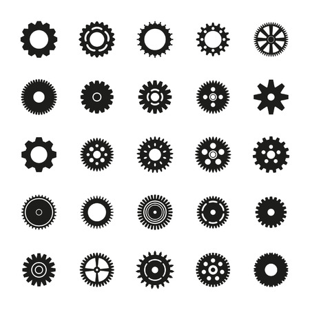 toothed: Gears set