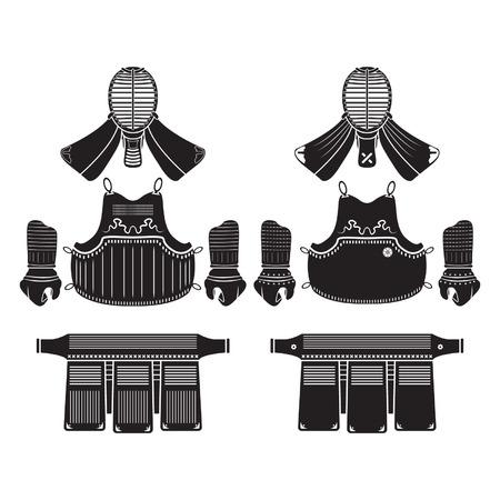 Bogu Kendo o armadura Foto de archivo - 29428021