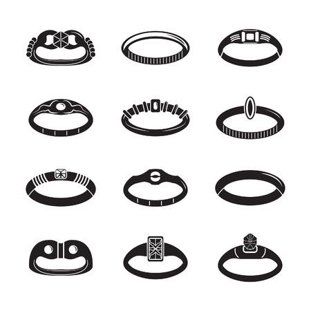 bijouterie: Rings set