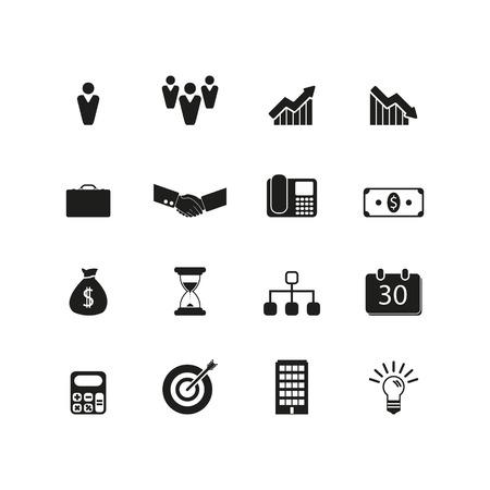 briefcase icon: Business icon set