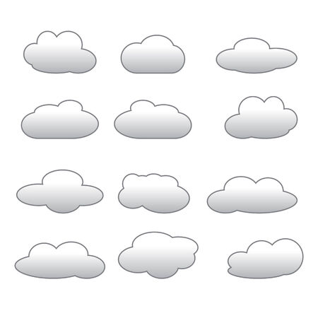 적란운: 구름 아이콘