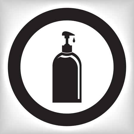 jabon liquido: Icono jabón líquido