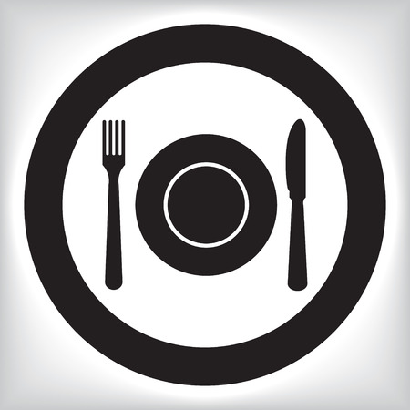 Restaurant pictogram