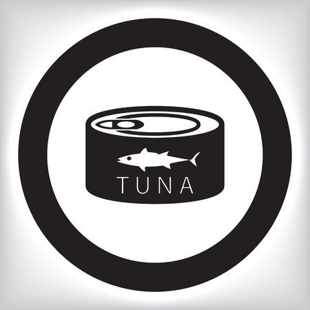 chunk: Canned tuna icon