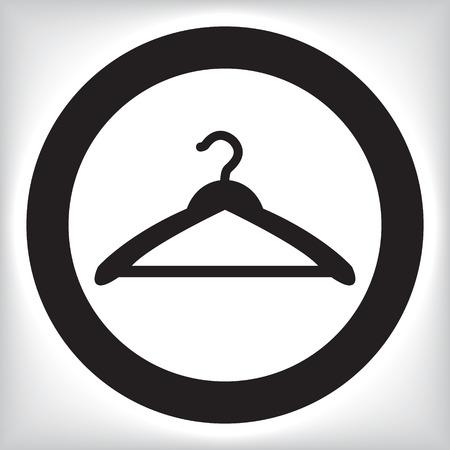 coat rack: Hanger icon