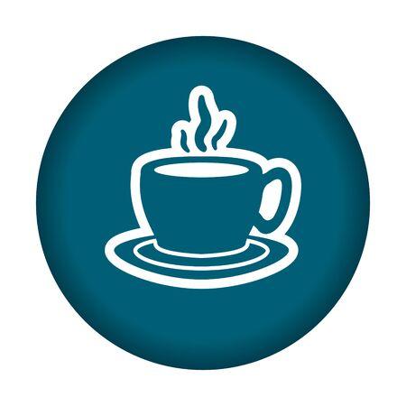 eps: Coffee mug icon. Vector illustration eps 10.