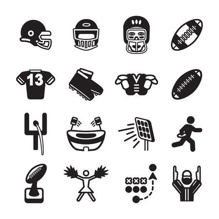 football jersey: American football icon set. Vector eps10.