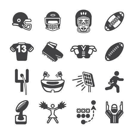 football shoe: American football icon set. Vector eps10.