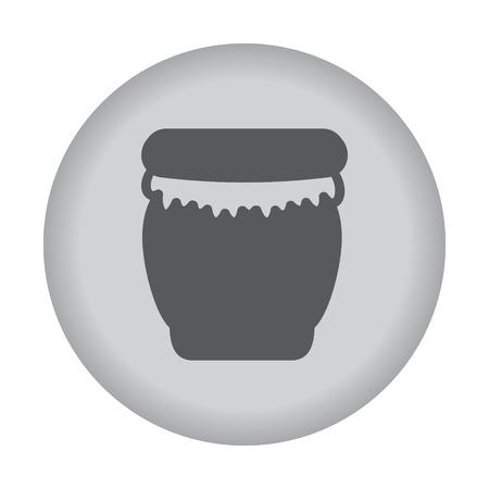 nectars: Honey jar icon. Vector eps 10. Illustration