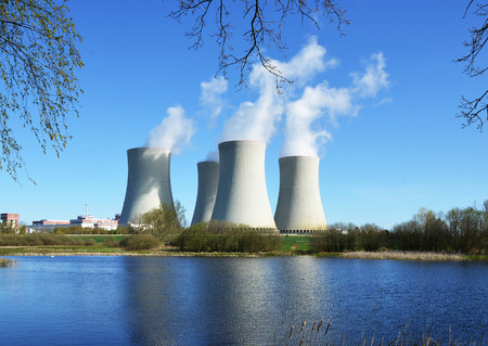 temelin: Nuclear power plant Temelin, Czech Republic