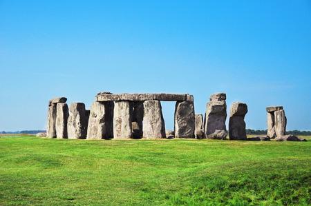 the old architecture: Historical monument Stonehenge, England, United Kingdom
