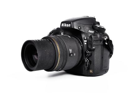 CHLUMCANY, PLZEN, MAY 5, 2015: Nikon D800 with Sigma lens Editorial