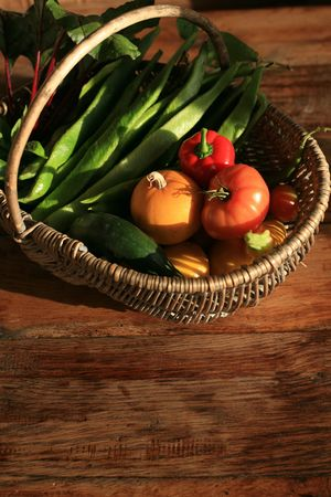 Organic vegetables Stock Photo - 8038099